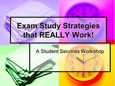 Exam Study Strategies