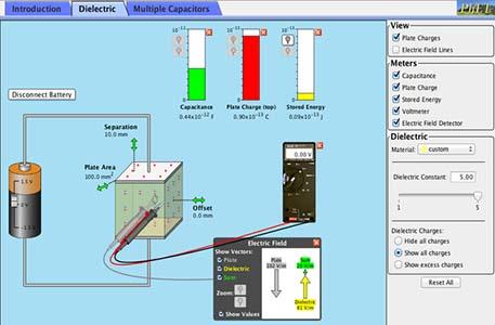 16-capacitor lab