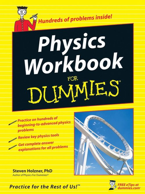 3 - Physics Workbook For Dummies-Cover