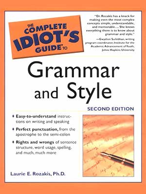 38 - The Complete Idiot's Guide to Grammar and Style-index
