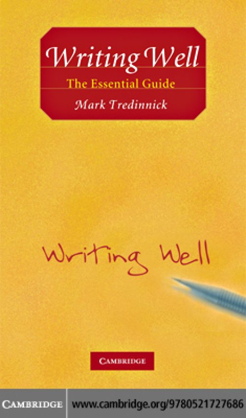 40 - Writing Well,The Essential Guide-cover