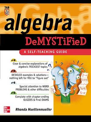 7 - McGraw-Hill - Algebra Demystified-index