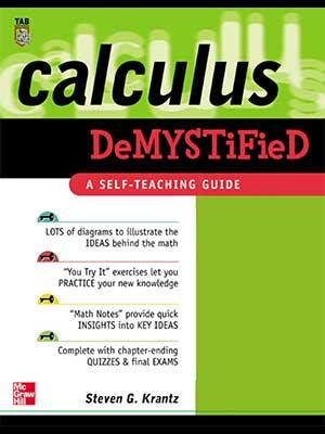 8 - McGraw-Hill - Calculus Demystified-index
