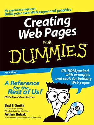 2 - Dummies Books Series - Creating Web Pages-index