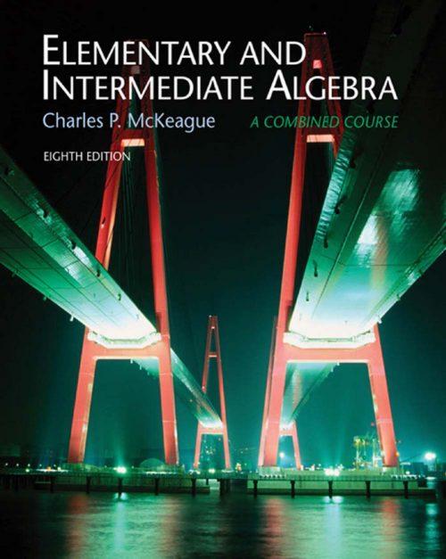 16 - Elementary and Intermediate Algebra-Cover