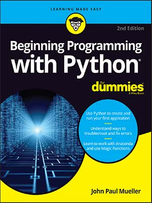 10 - Beginning Programming with Python For Dummies 2ndEdition-index