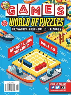 89 - Games World of Puzzles - January 2019-index