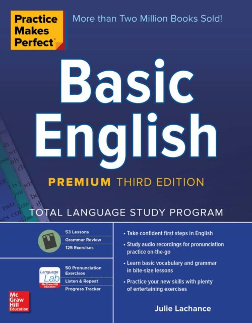 93 - Practice Makes Perfect - Basic English-cover