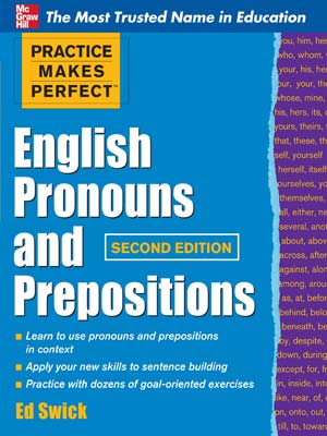 94 - Practice Makes Perfect - English Pronouns and Prepositions-index