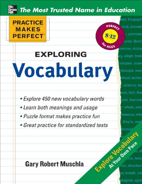 101 - Practice Makes Perfect - Exploring Vocabulary-cover