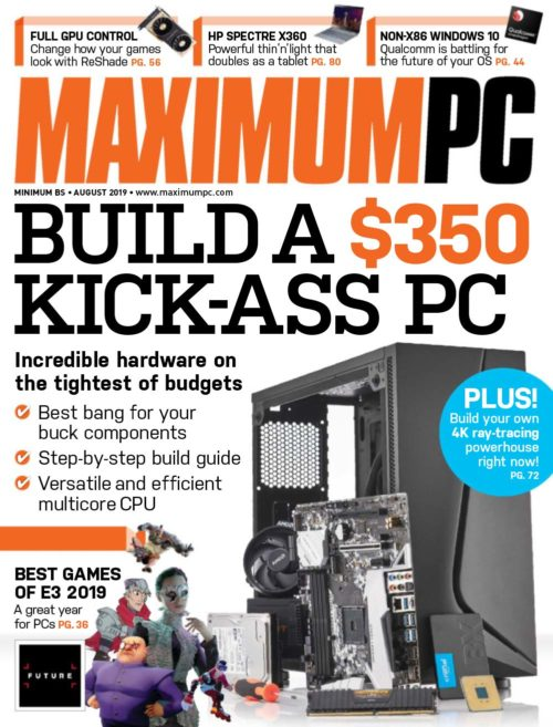 120 - Maximum PC - July 2019-cover