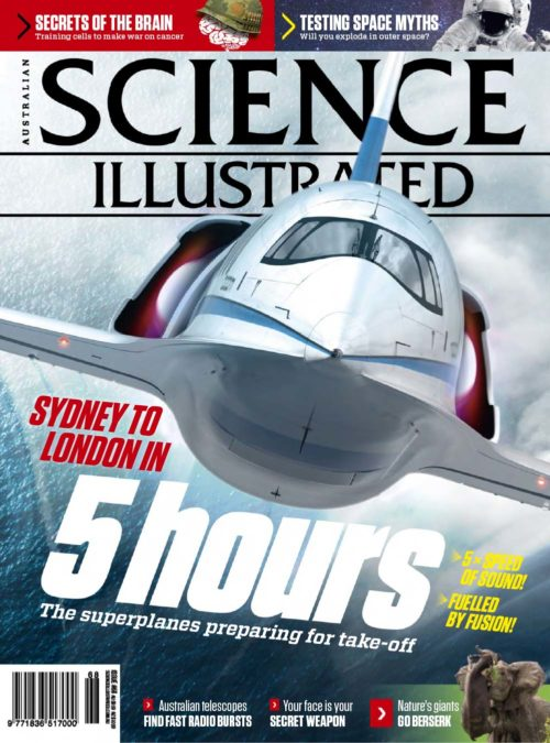 85 - Science Illustrated - August 2019-cover