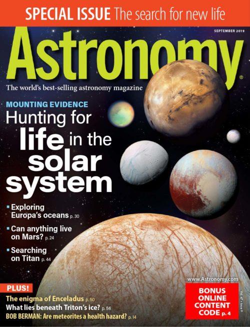86 - Astronomy - September 2019-cover